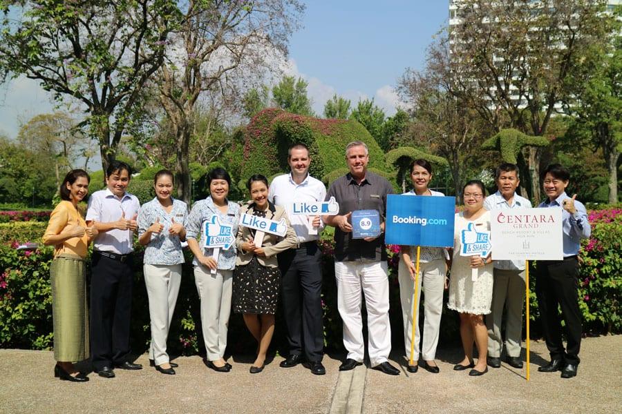 Centara Grand Beach Resort & Villas Hua Hin Wins 2015 Award