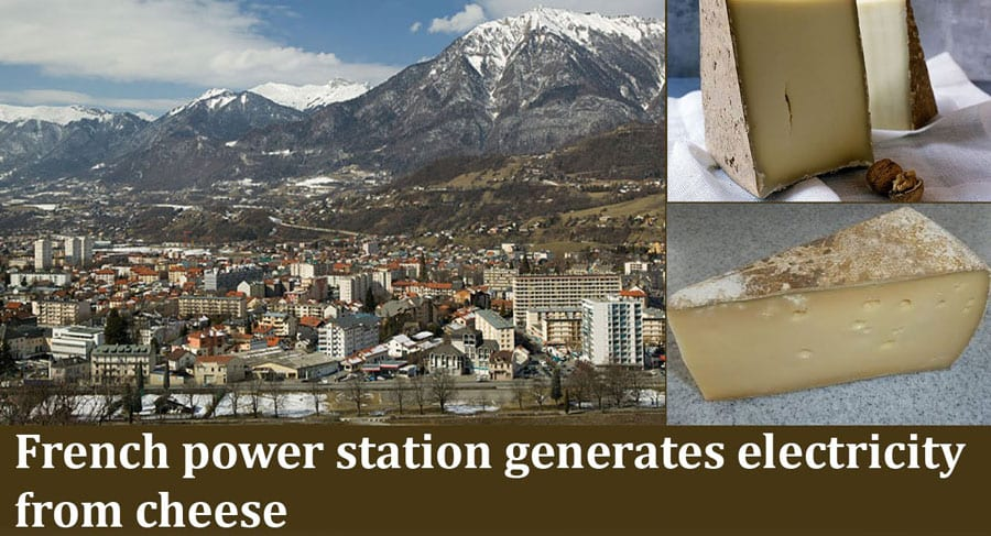 Cheese-Based Power Station in The Alps Produces Enough Power to Supply a Community of 1,500