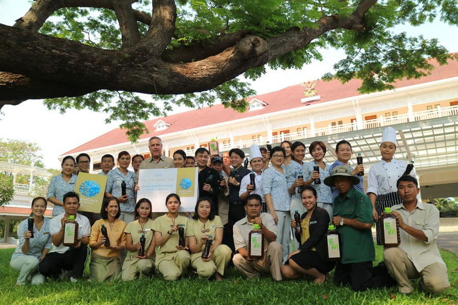 Centara Grand Beach Resort and Villas Hua Hin Achieve Gold Certification 2016 Certified by Earth Check