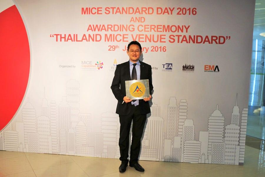 Sheraton Hua Hin Resort & Spa Wins Thailand MICE Venue Standard Award