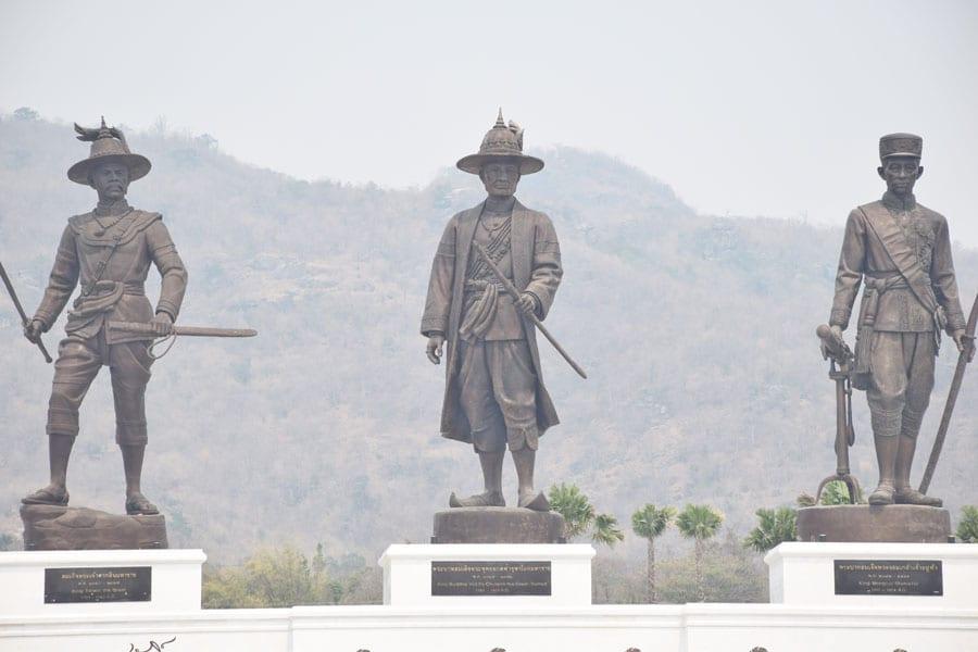 Chakri Memorial Day in Thailand