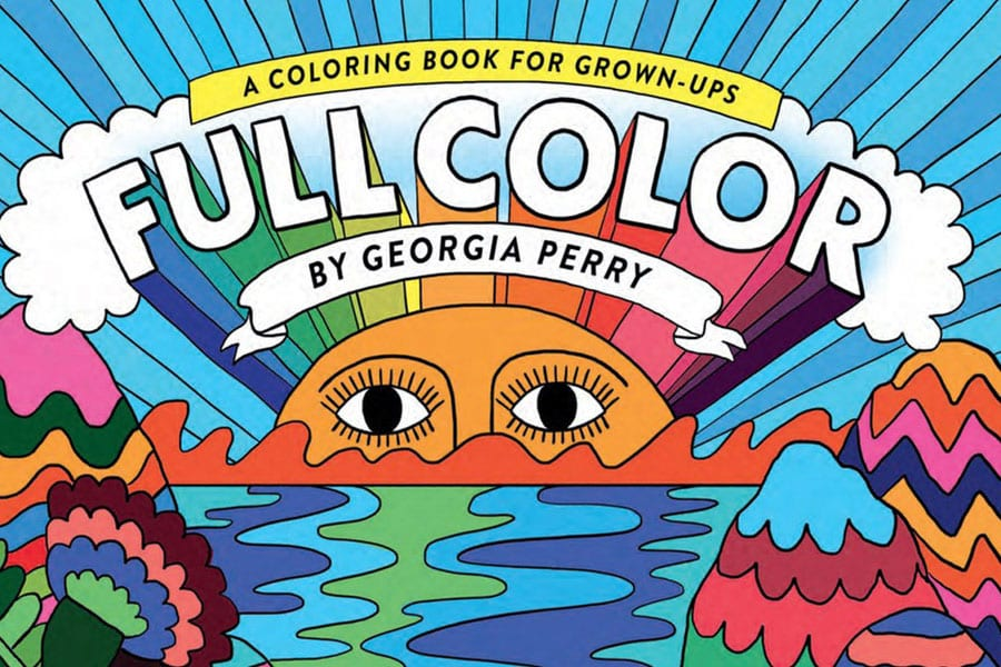 Colouring Books For Grown-ups