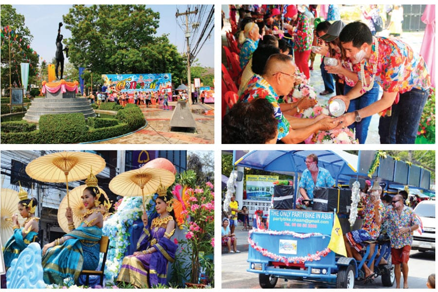 2016 Songkran Festival In Hua Hin & Cha-Am