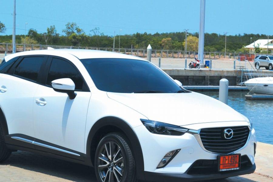 Taking A Mazda To The Marina