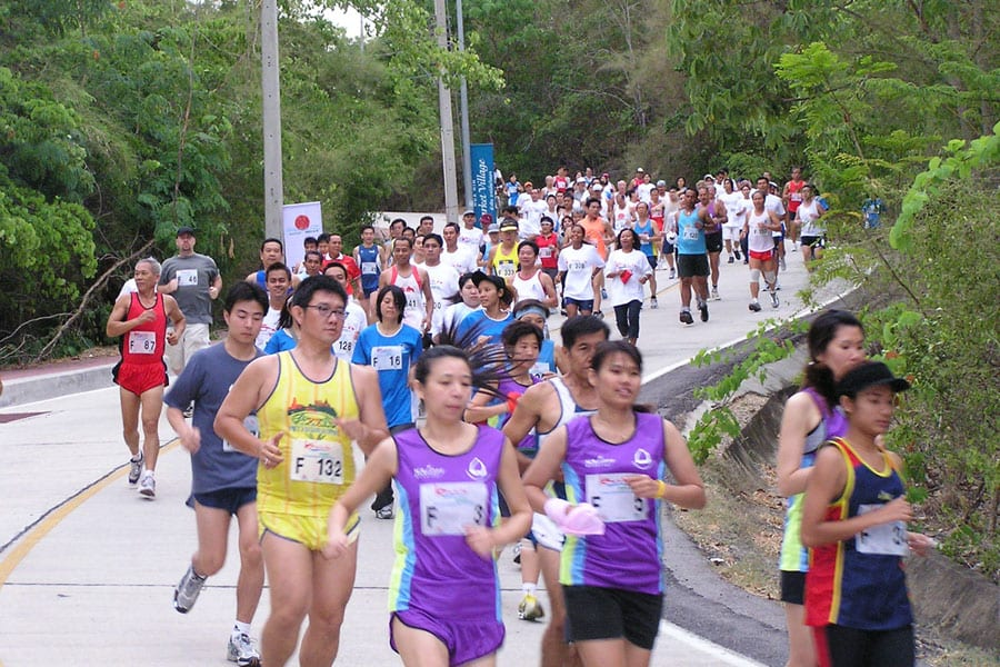 Preserve Hua Hin 13TH Beach Run 2016