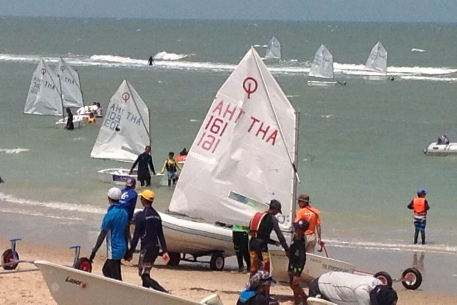 The Sailing Club Hua Hin Welcomes the 2016 Regatta