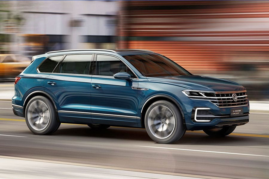 Volkswagen Previews Next Touareg