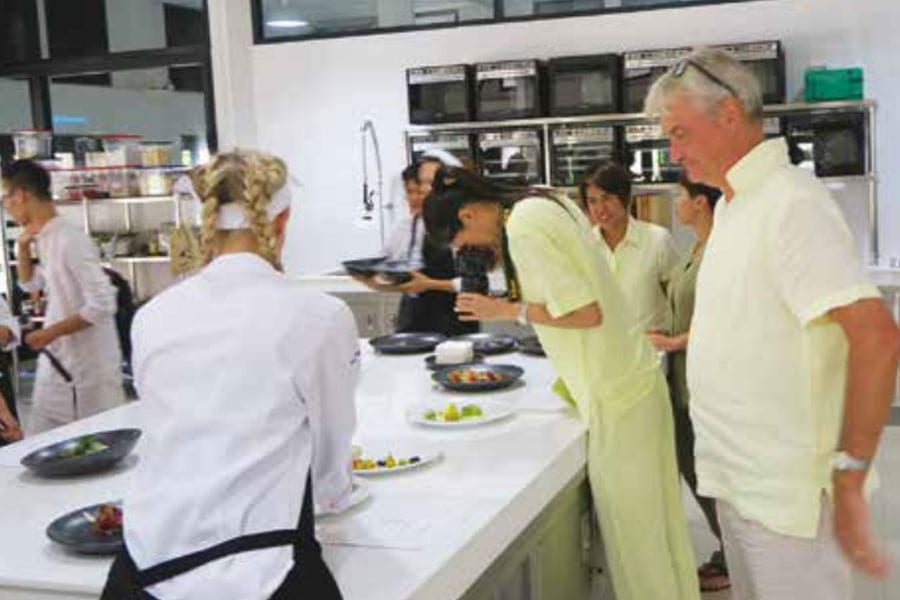 Culinary Academy Takes Root in Pranburi