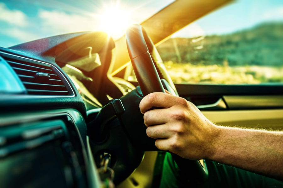Driving Cool in Hot Weather