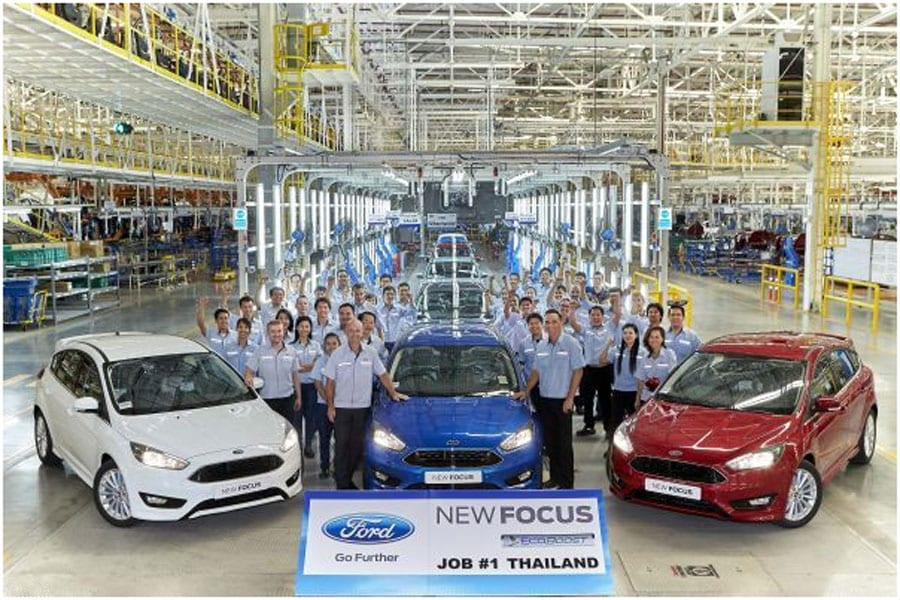 Ford Celebrates New Focus for Thailand, Arriving in Showrooms this Month