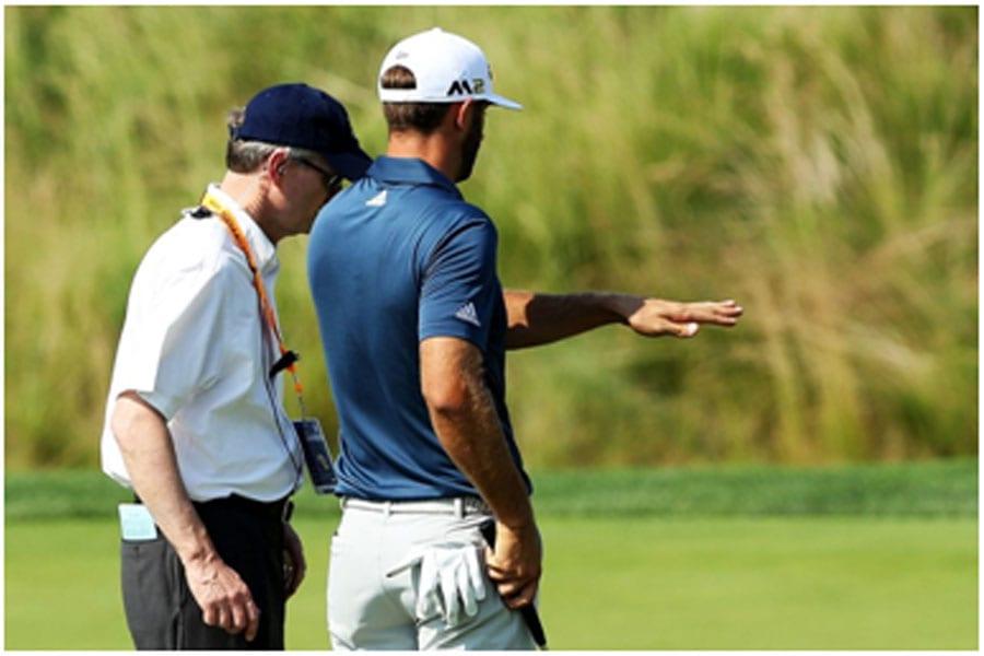 Johnson Wins U.S. Open, Despite Rules Controversy