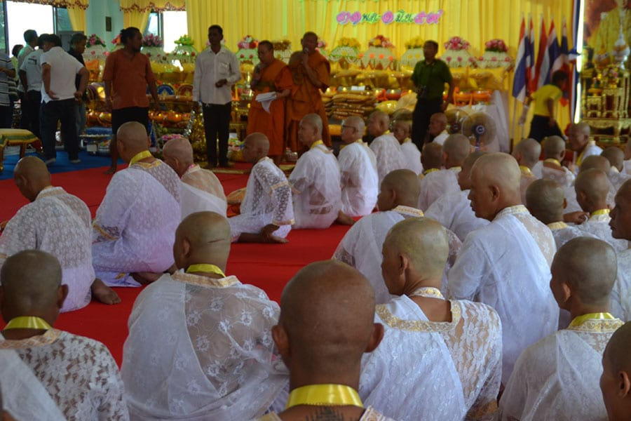 Joining a Joyful Buddhist Ordination