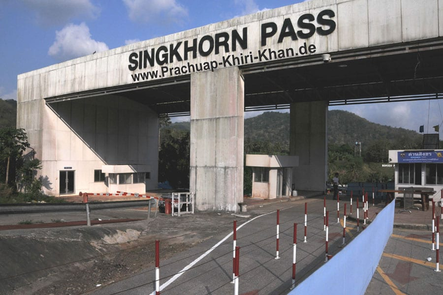 Prachuap Khiri Khan To Build New Border Crossing Building at Singkhon