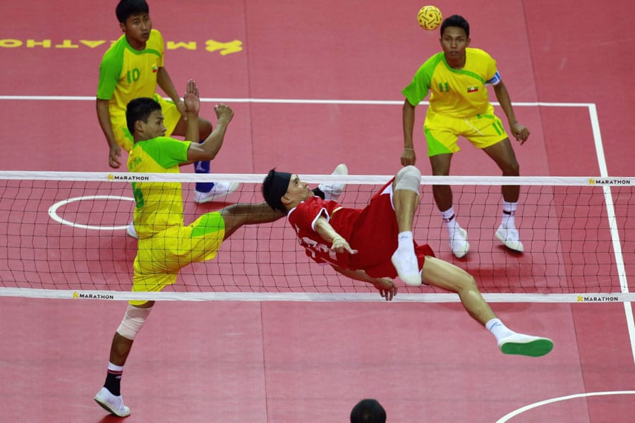 Sepak Takraw Kicks Off in Southeast Asia