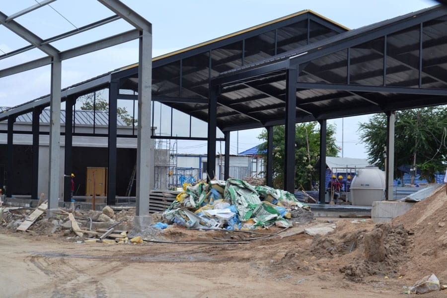Hua Hin Fishing Pier Renovations