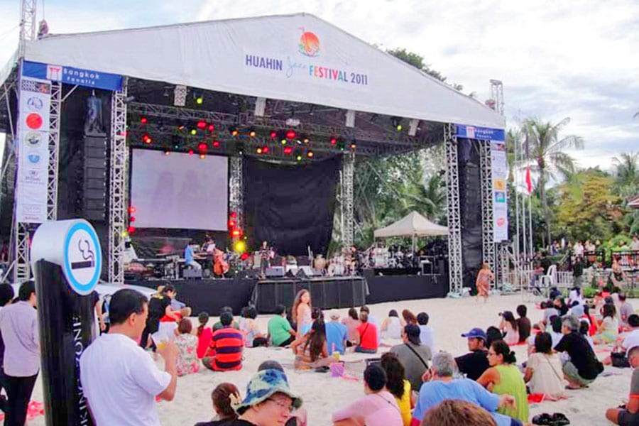 Hua Hin Jazz Festival Getting Back on the Big Stage