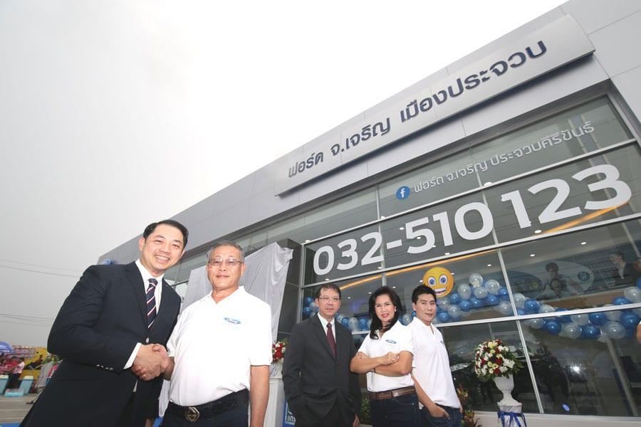 The Opening of Ford Jor Charoen Muang Prachuap