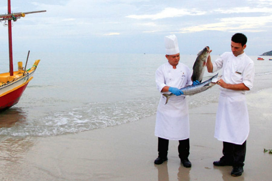 From Sea to Sand to Table