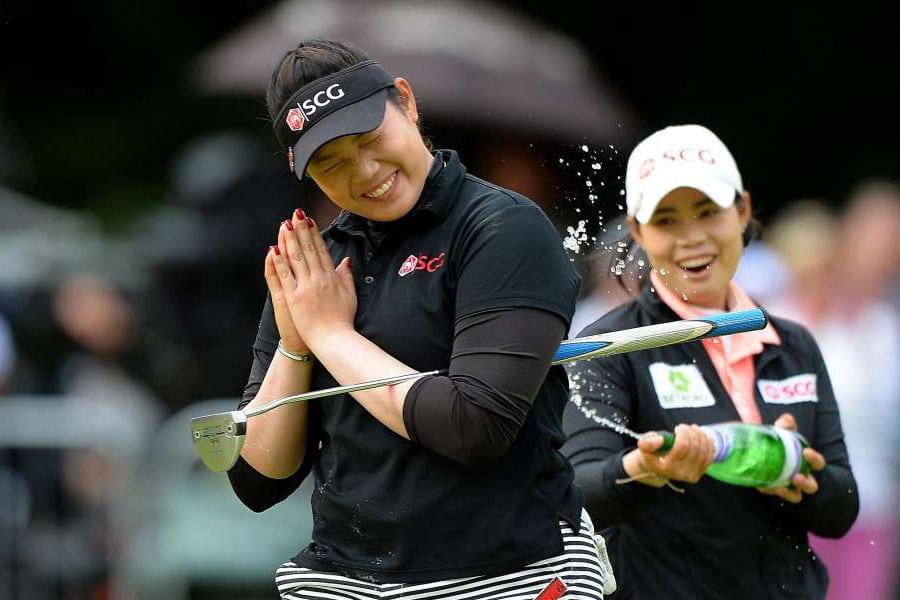 Ariya Jutanugarn Becomes Thailand's First Major Winner