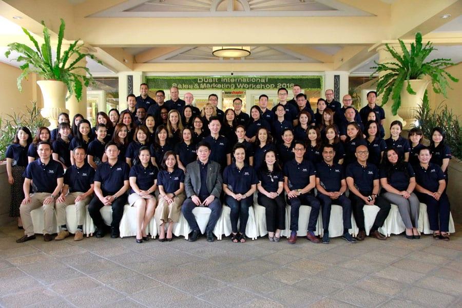 Dusit Thani International Sales & Marketing Workshop