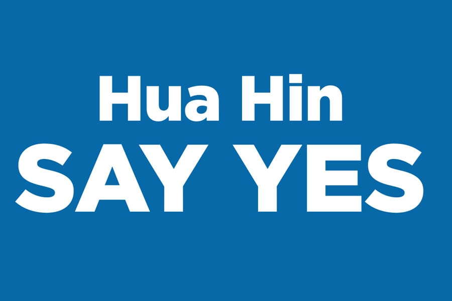 Bluport Hua Hin, We Say Yes
