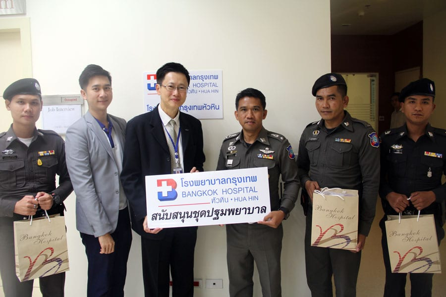 First Aid Kits Presented to Support Police Tourist