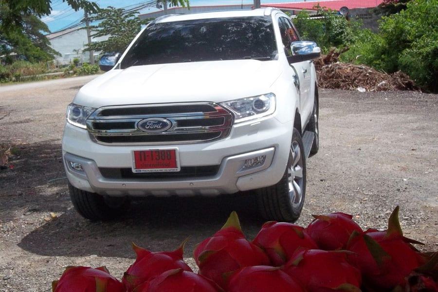 Road Trip in the New Ford Everest