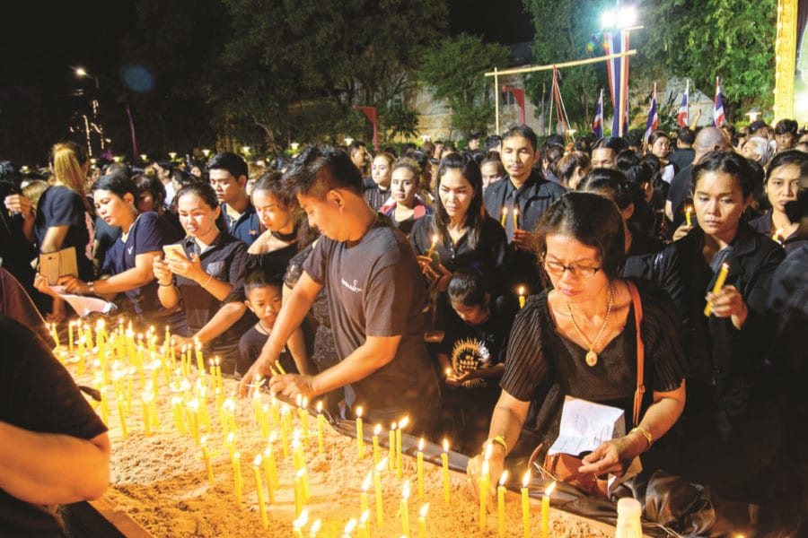 Thailand begins mourning national loss