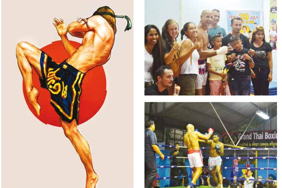 Trying Your Hand (Plus Elbows, Feet and Knees) at Muay Thai Boxing