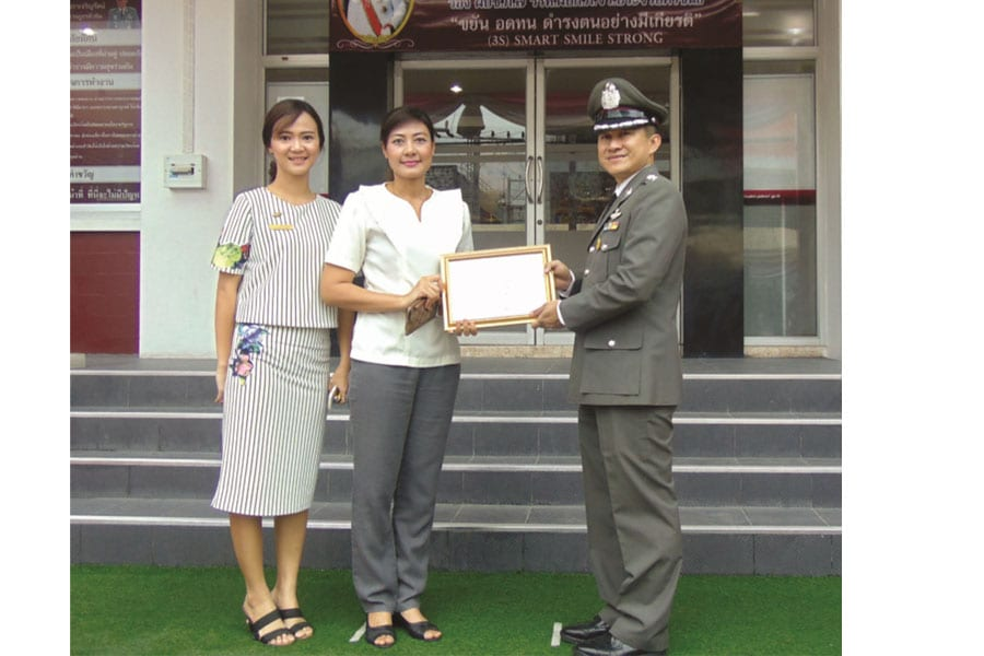 Scholarships For The Children Of Hua Hin Police