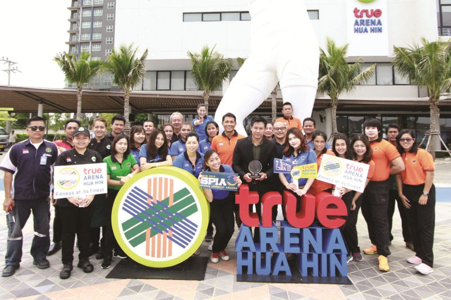 True Arena Hua Hin Receives the Silver Award as Best Sports and Recreation Facility