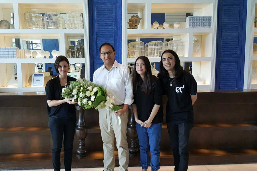 Amari Welcomes Media Stars