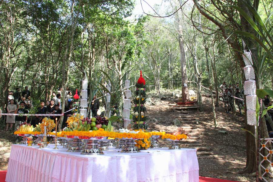 Prachuap Khiri Khan Provides Sandalwood Trees for The Royal Cremation