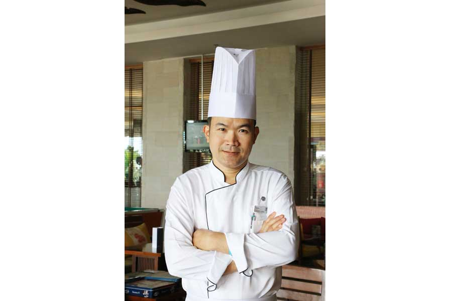 Sheraton Appoints New Pastry Chef - Chef Saneh Loukam