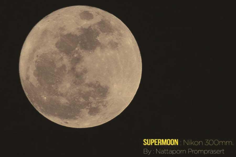 The Supermoon on Loy Krathong
