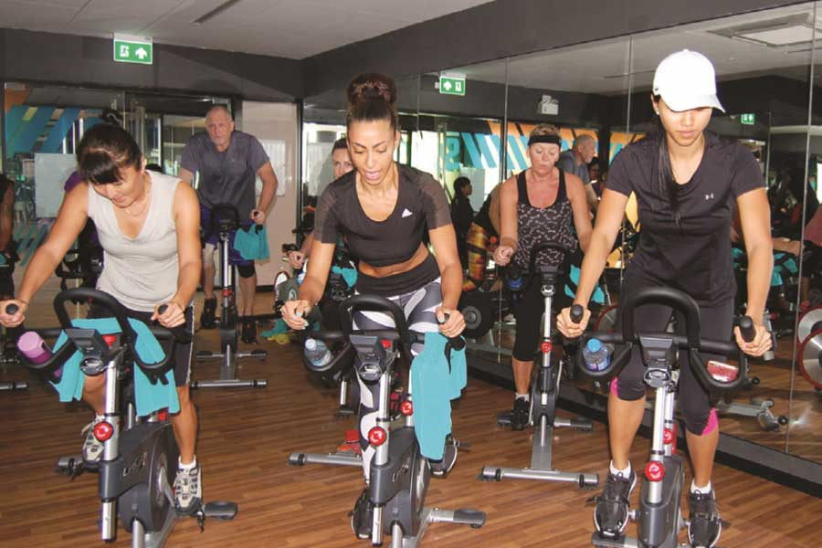True Arena's Exclusive LesMills RPM Indoor Cycling Fitness Training
