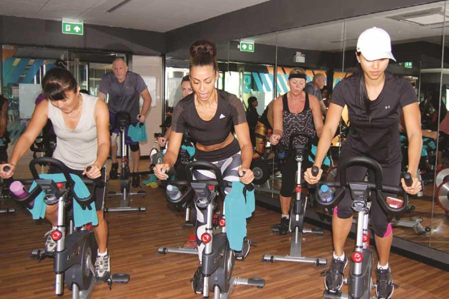 True Arena's Exclusive LesMills RPM Indoor Cycling Fitness Training