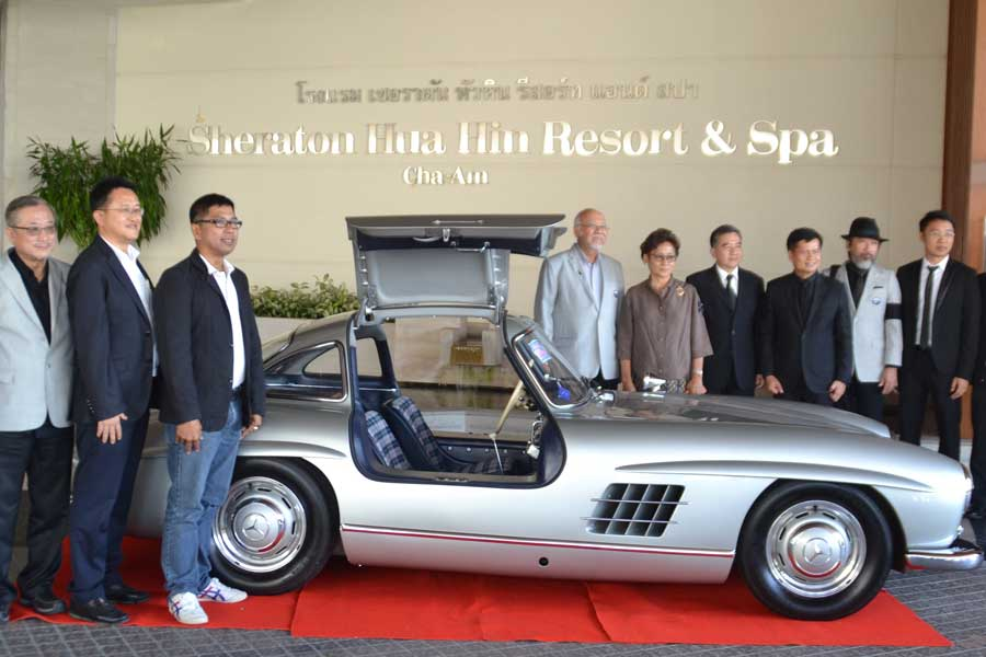 Vintage Cars Coming To The Sheraton