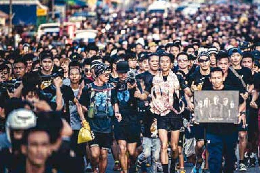 Bodyslam's 'Toon' raises 70 Million THB in 400km Run
