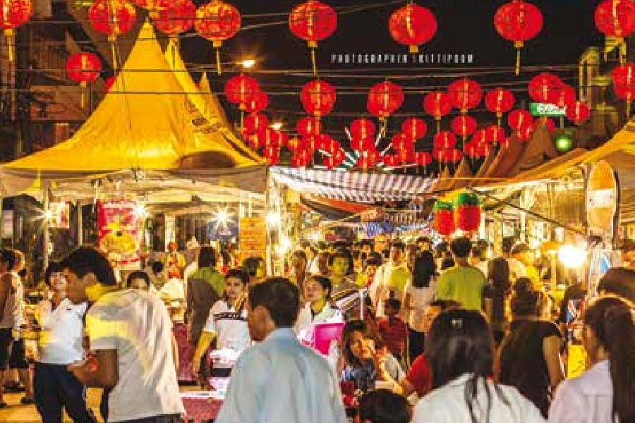 Chinese New Year's Day; the First Day of the Chinese Lunar Calendar