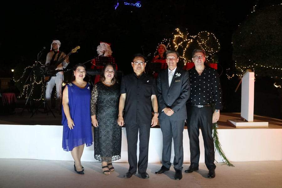 Christmas Tree Lighting Ceremony at Centara Grand Beach Resort and Villas Hua Hin