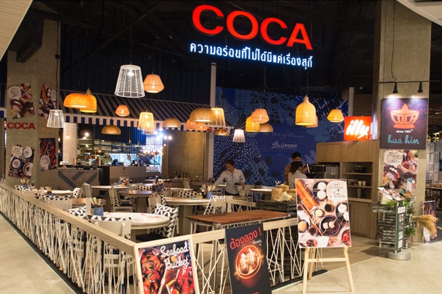 Coca Hua Hin Opens with Favourite Dishes For Everyone