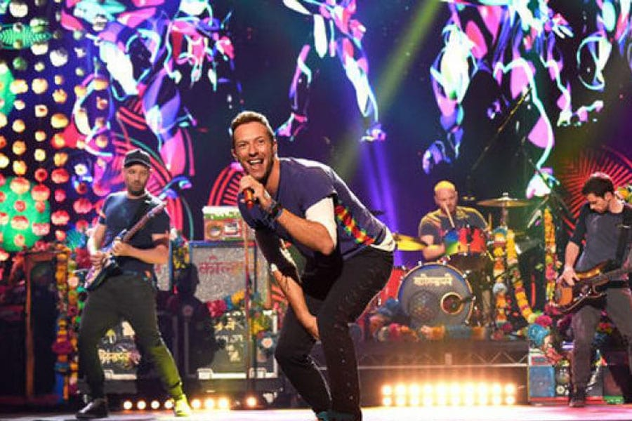 """Coldplay """"A Head Full of Dreams"""" Tour to Bangkok on 7th April 2017"""