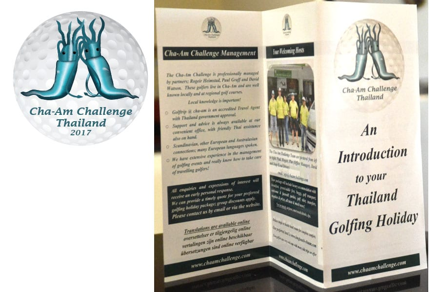 Local Golfers Encouraged to Take On the Cha-Am Challenge