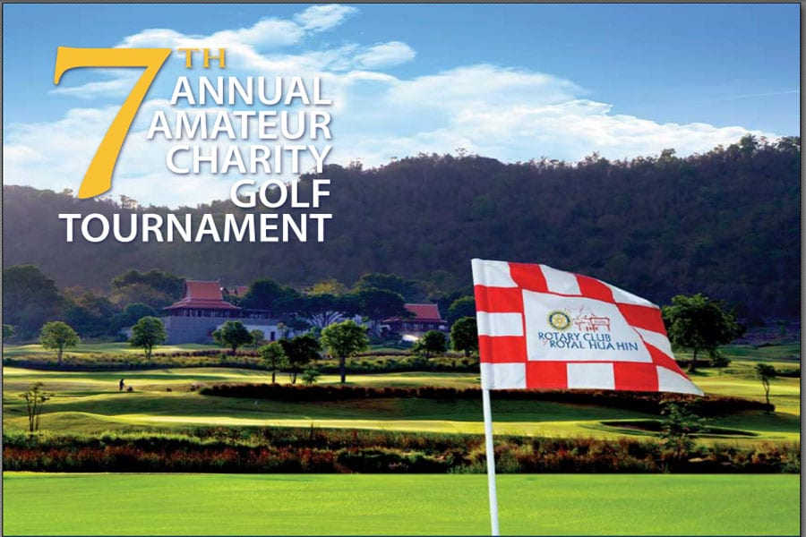 The Rotary Club of Royal Hua Hin 7th Annual Charity Golf Tournament at Banyan Golf Club