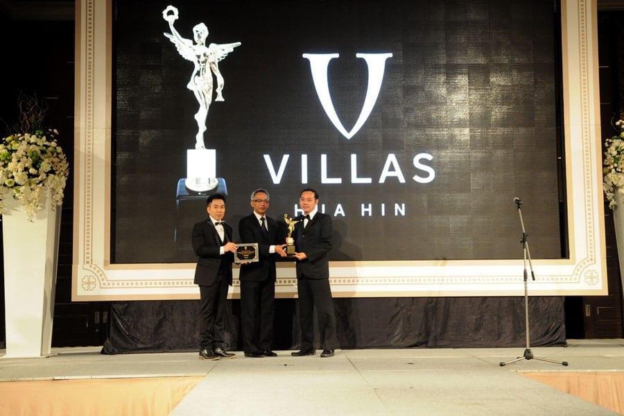 V Villas Hua Hin Receives 2016 World Luxury Hotel Award
