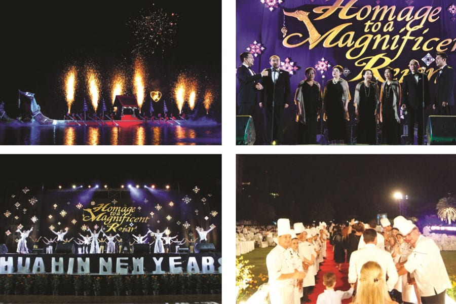 New Year at the Dusit Thani Hua Hin