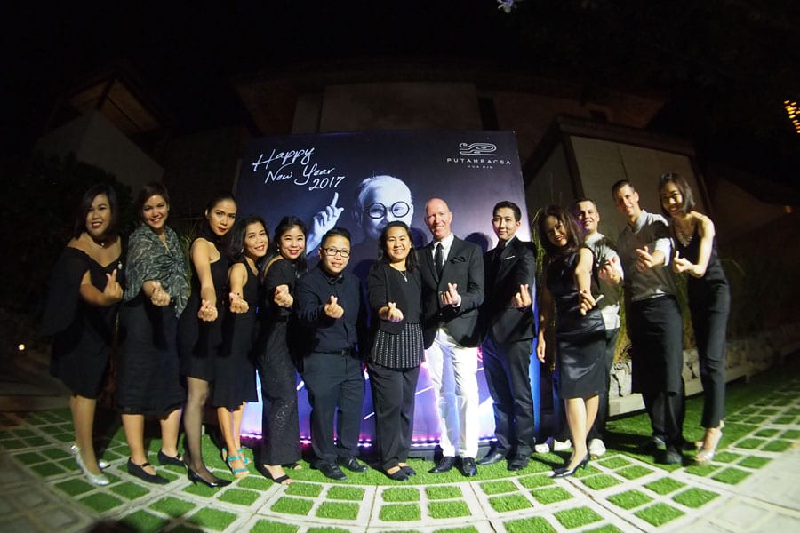 Putahracsa Hua Hin Celebrates New Even Gala Dinner