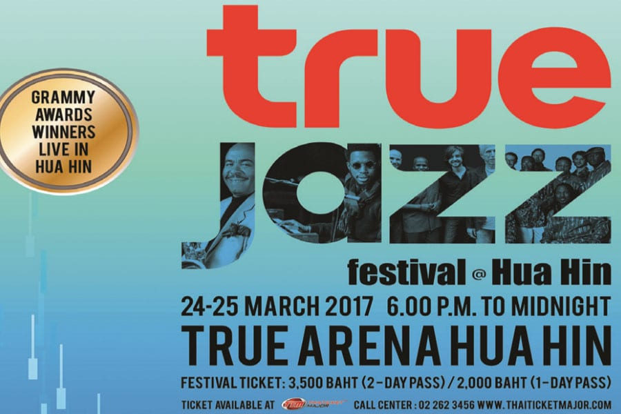 Jazz at True Arena This Month in Hua Hin