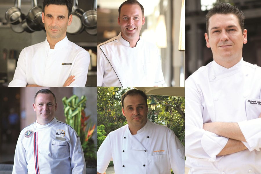 Introducing Five Executive Chefs Ready for you To 'Dine at the Beach'